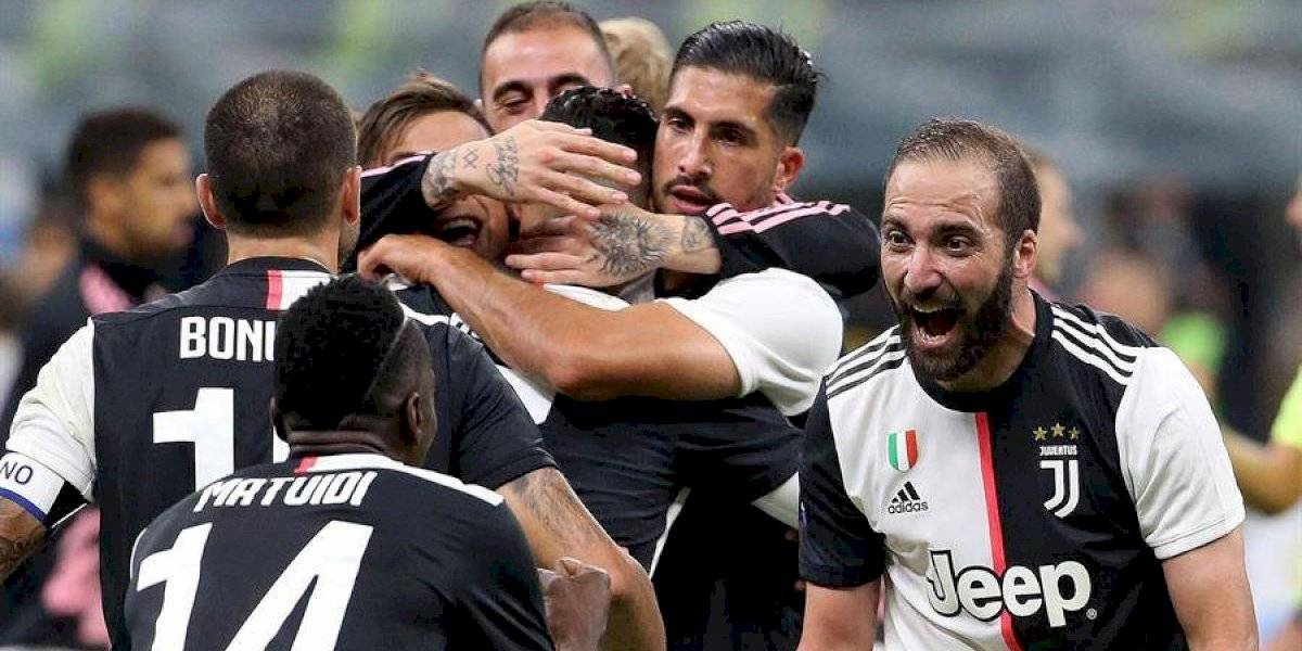 Higuaín sella el triunfo de la Juventus frente al Inter de Milán