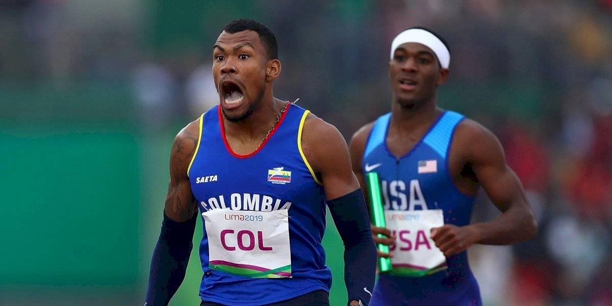 ¡Colombia hizo historia en los 4 x 400 metros en el Mundial de Atletismo!