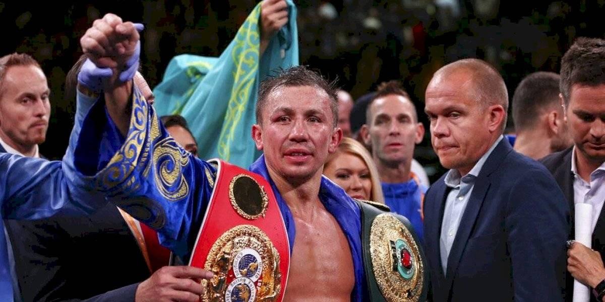Golovkin vence a Derevyanchenko y va en busca del Canelo