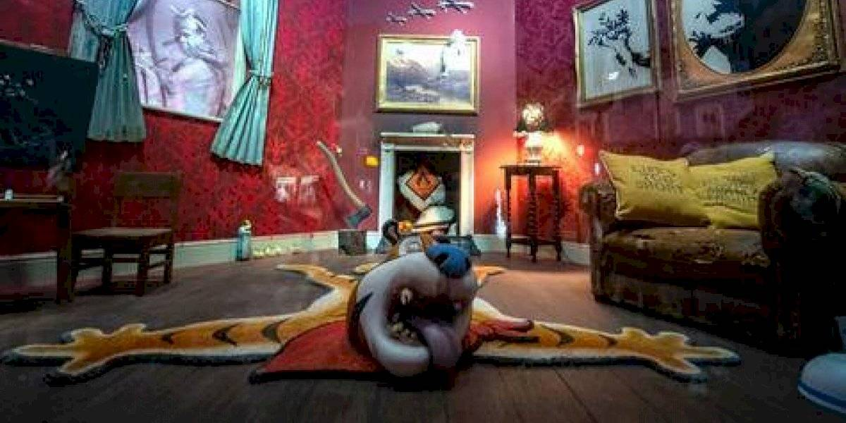 Banksy inaugura una tienda en Londres