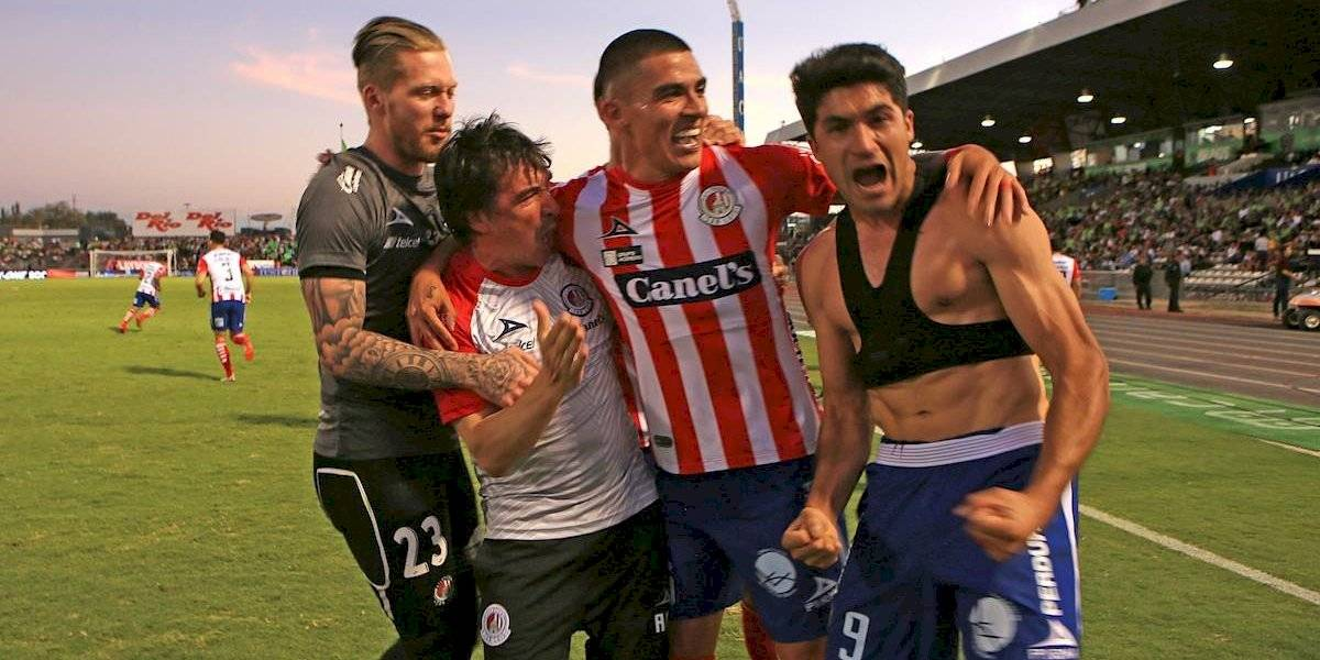 Atlético de San Luis derrota en tiempo de compensación a Juárez