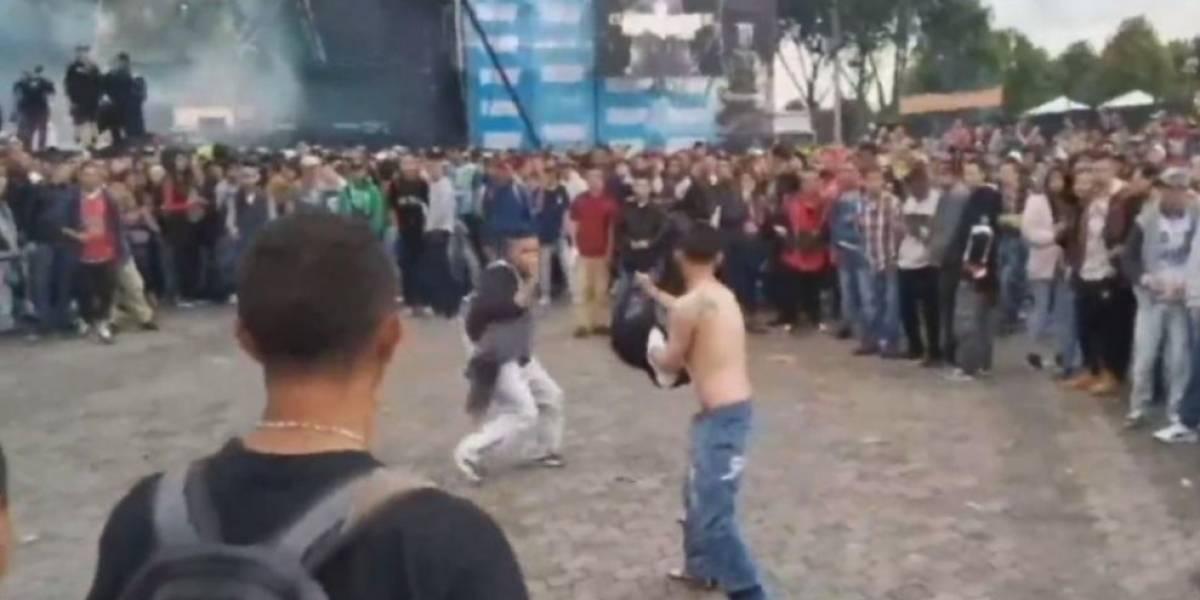 Hombre sufrió lesión a puñal a las afueras de Hip Hop al Parque
