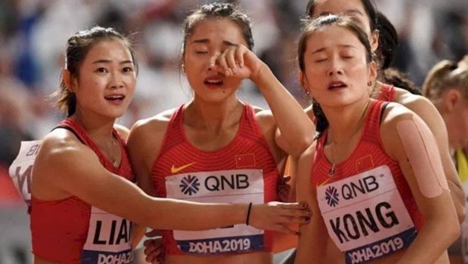 Chinas corren hacia atrás en el Mundial de Atletismo de Doha 2019