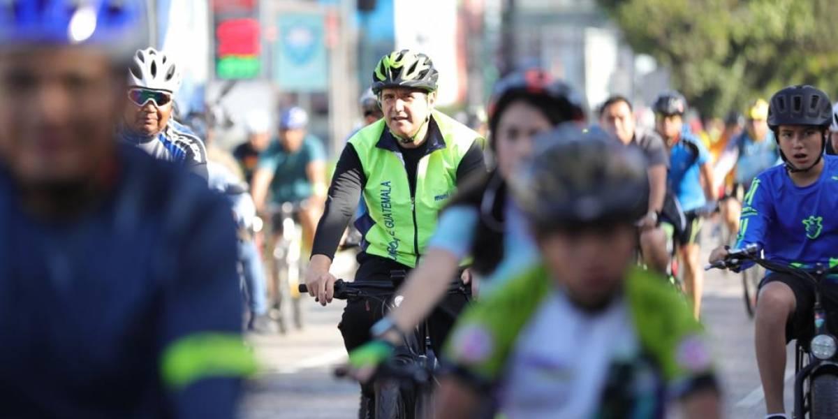 En recorrido bicitour alcalde anuncia construcción de 100 kilómetros de ciclovía