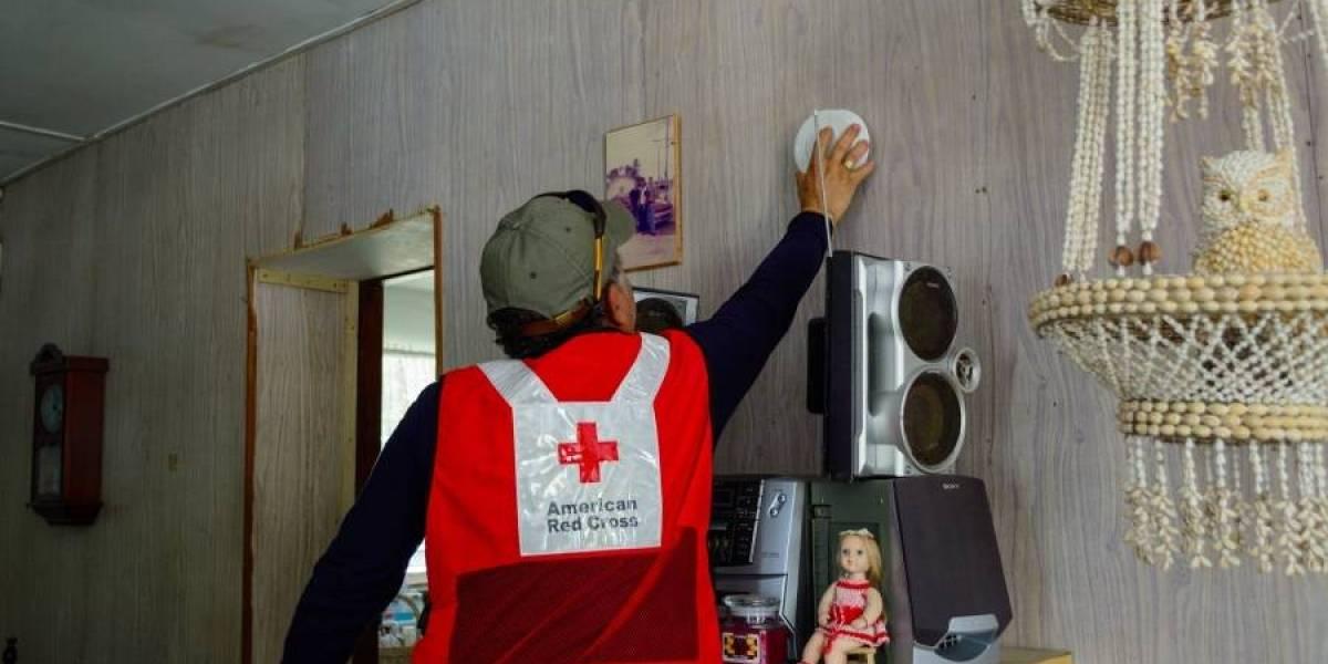 Cruz Roja aporta para evitar fuegos en el hogar y salvar vidas