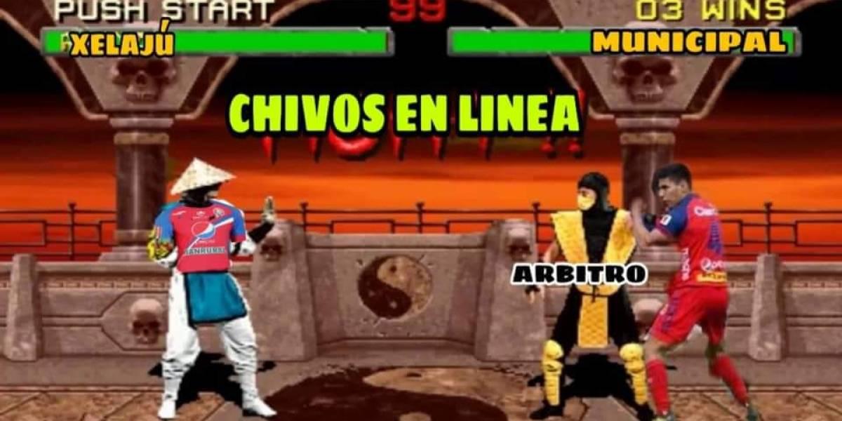 Municipal y Xelajú MC: Los mejores memes tras la pelea en el estadio El Trébol