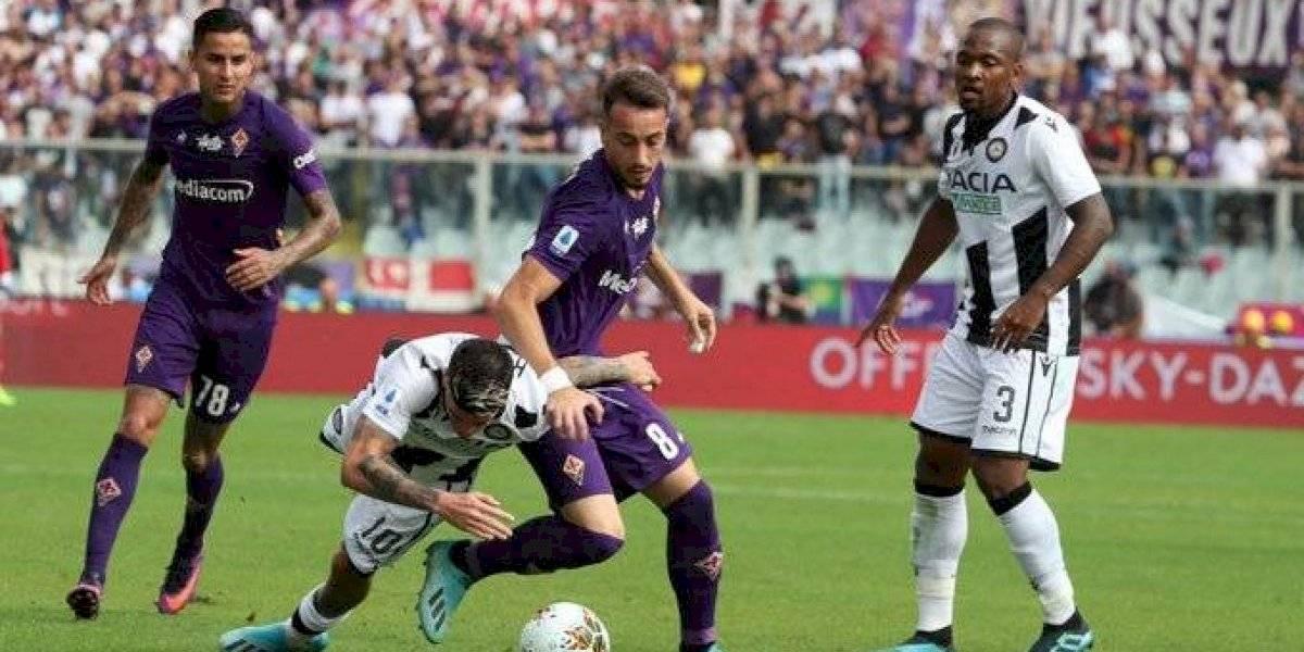 Fiorentina sigue intratable en la Serie A italiana y ahora derrotó a Udinese con asistencia de Pulgar
