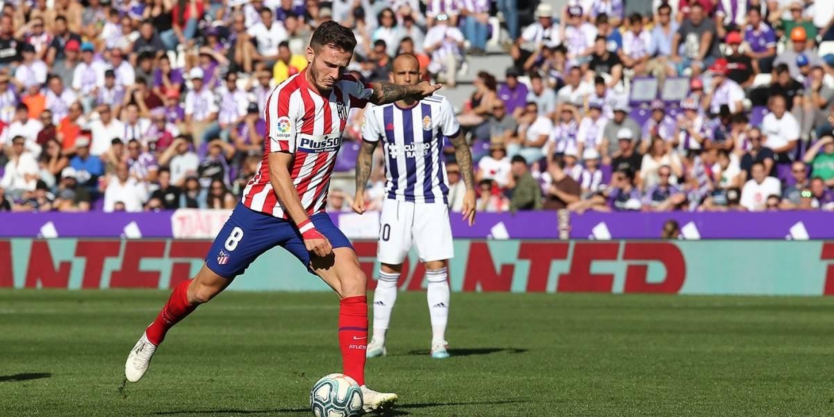 Atlético de Madrid empata con el Valladolid y se aleja de la cima