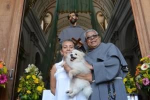 El pasado 4 de octubre se celebró el Día de San Francisco de Asís; sin embargo, este domingo se llevó a cabo una misa especial y posterior a ello la bendición de mascotas.