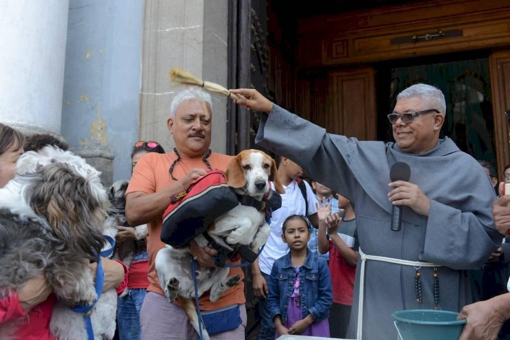 El pasado 4 de octubre se celebró el Día de San Francisco de Asís; sin embargo, este domingo se llevó a cabo una misa especial y posterior a ello la bendición de mascotas. Omar Solís