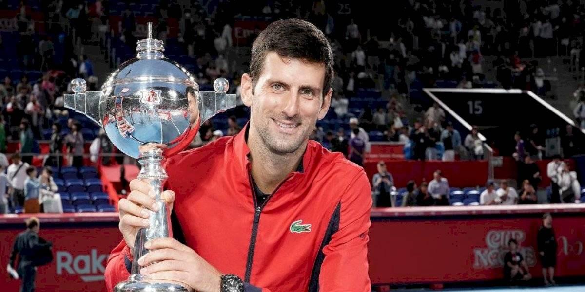 Djokovic vence a Millman para ganar el Abierto de Japón
