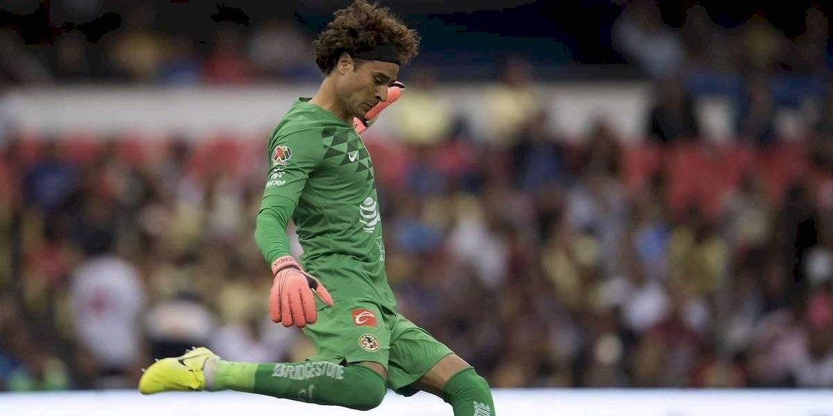 Guillermo Ochoa ha recibido 15 de los 18 goles que suma América en el Apertura 2019