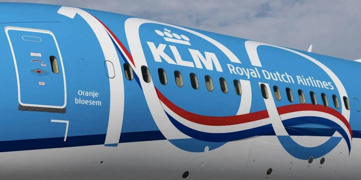 KLM: El logo a través de los años
