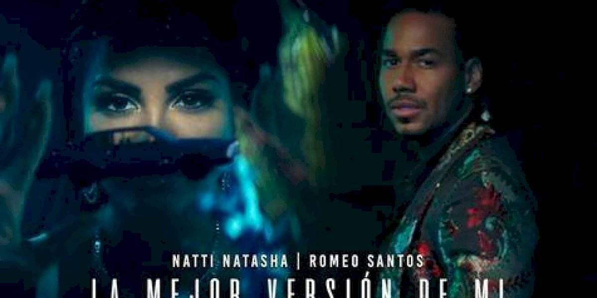 """Natti Natasha y Romeo Santos cantan """"La mejor versión de mi remix"""""""