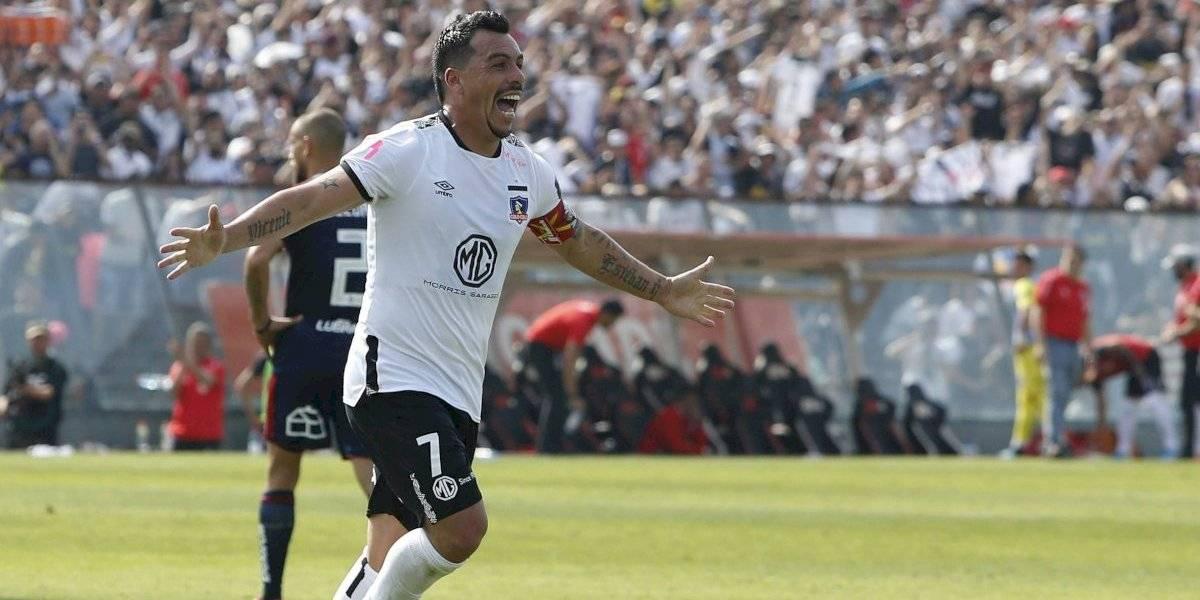 De Cerro Navia al mundo: El íntimo festejo de Esteban Paredes tras convertirse en el goleador histórico del fútbol chileno