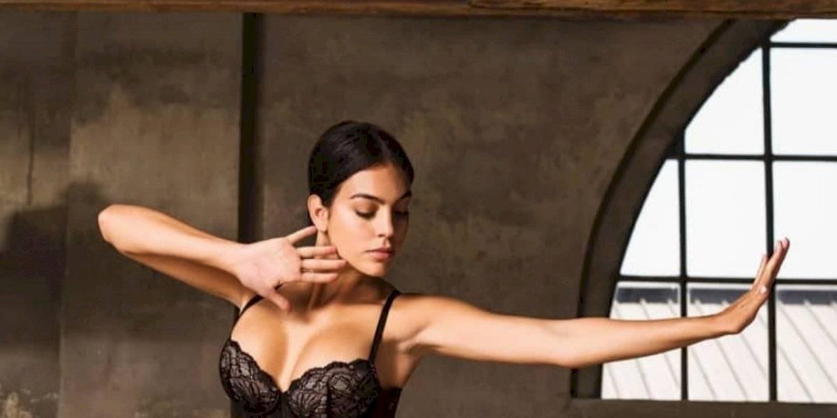 FOTO. El apretado y sexy vestido de Georgina Rodríguez que seduce a sus fans