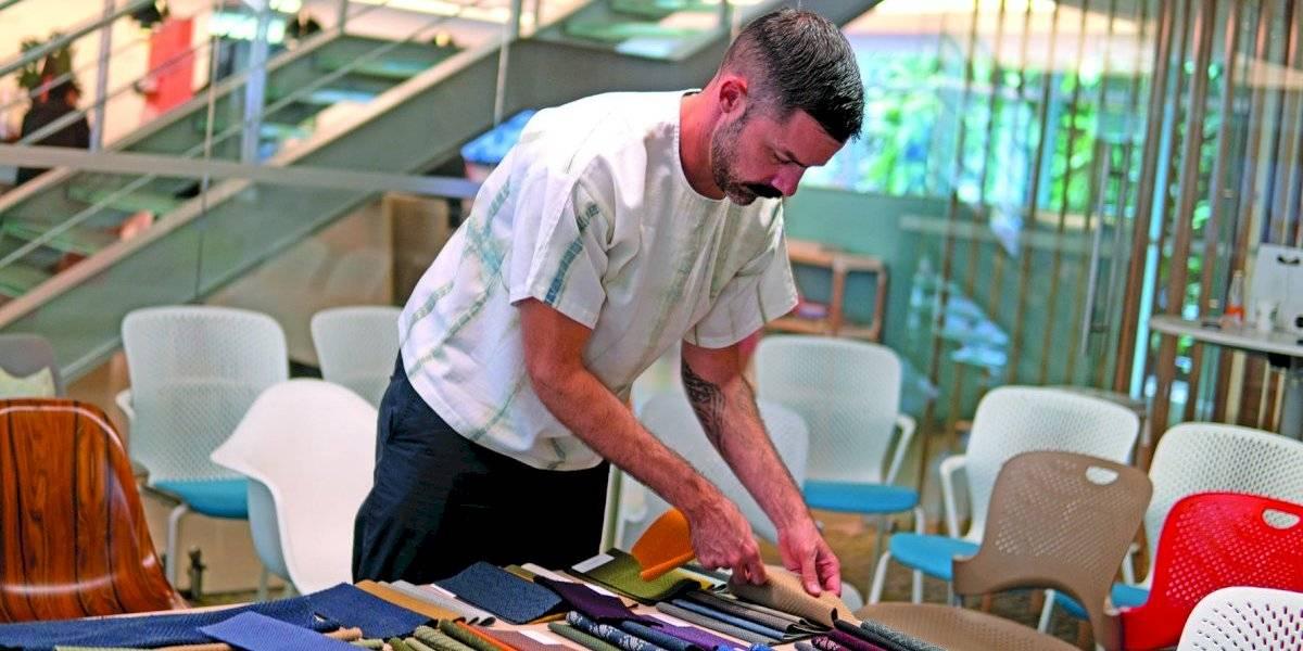 El arte  de crear textiles sustentables para oficinas