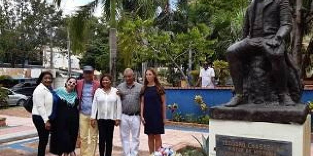 Actos bicentenario del pintor Théodore Chassériau iniciaron en Samaná