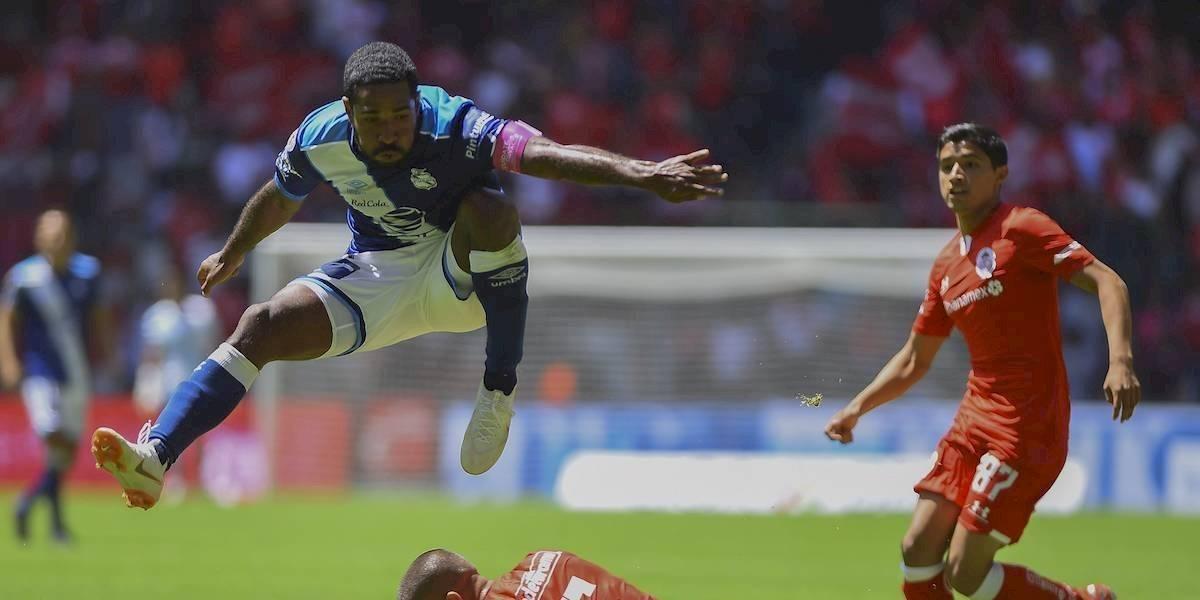 Toluca rescató valioso empate ante el Puebla y ambos se alejan de zona de clasificación