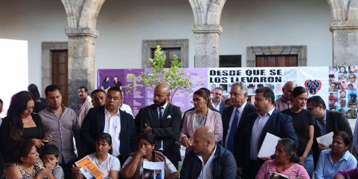 Reportan la desaparición de 13 personas al día en Jalisco