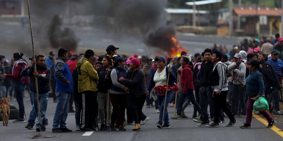 Conaie informó muerte de Édgar Yucailla, herido durante protestas en Quito