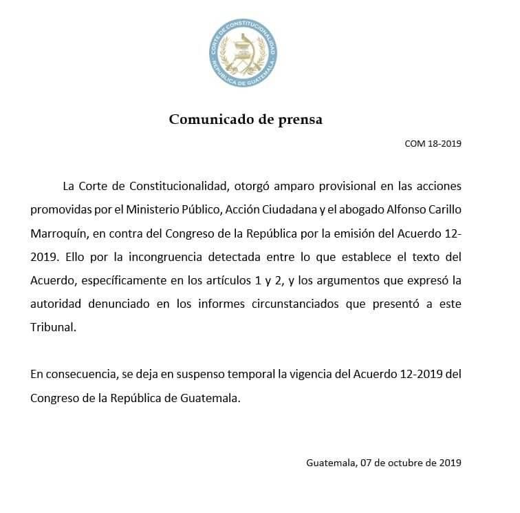 Comisión específica que investigará a CICIG