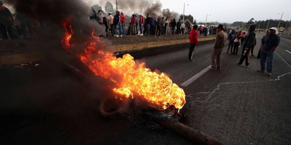 Estudiante fue sentenciado a 4 meses de cárcel por manifestaciones en Cuenca