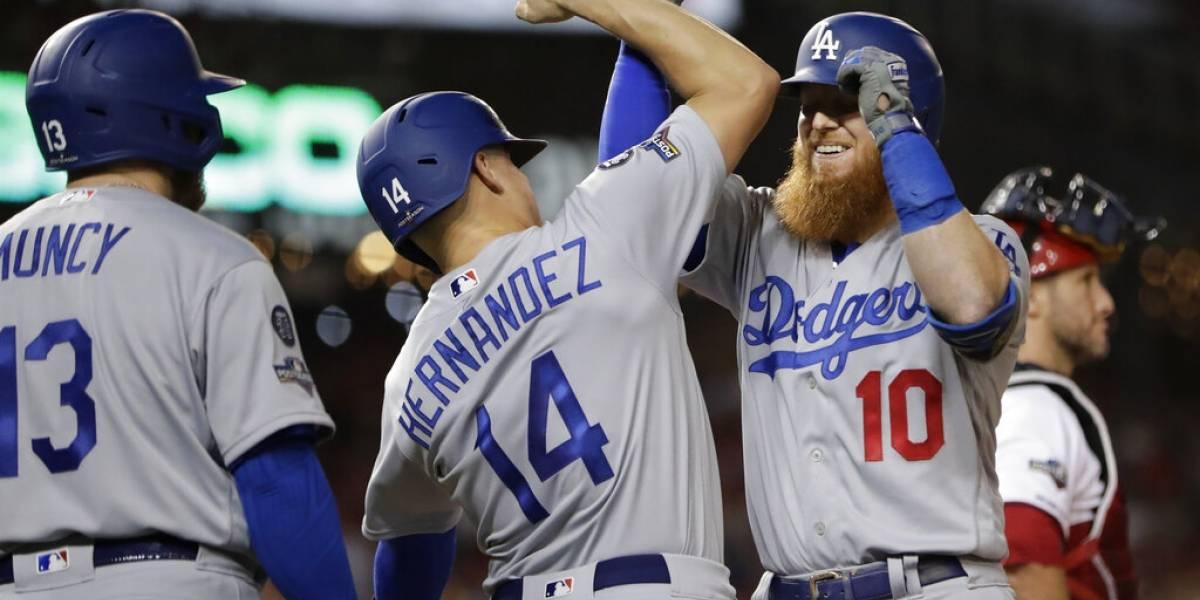 ¡A palo limpio! Dodgers anotan siete carreras en la 6ta entrada y vencen a los Nacionales
