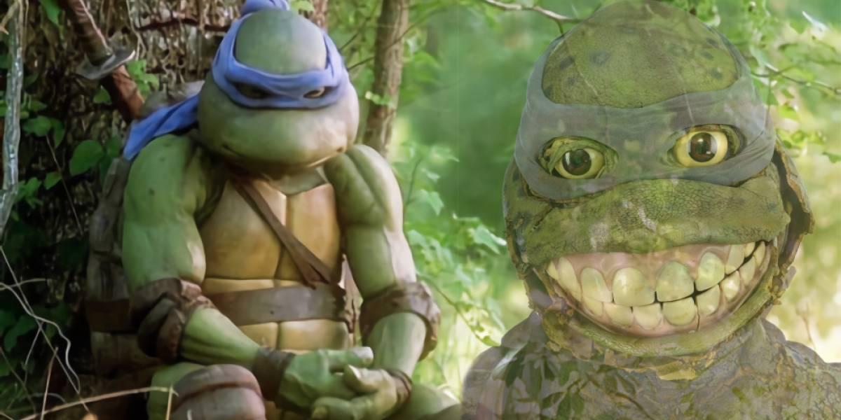FAIL: Nadie quiso comprar el feo disfraz de Leonardo de las Tortugas Ninja que se estaba subastando
