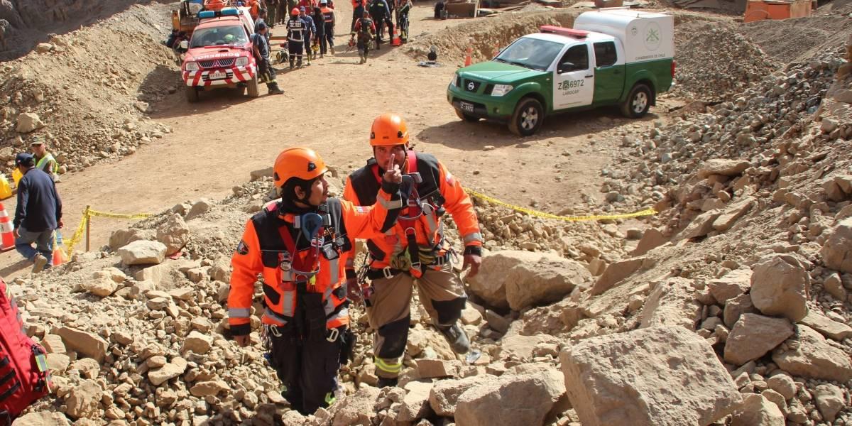 Tierra Amarilla: ingeniero muere en plena faena tras caer 80 metros en la Mina Granate