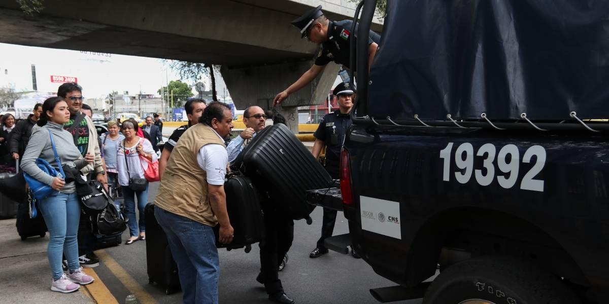 Más de un millón de personas se vieron afectadas por los bloqueos de taxistas