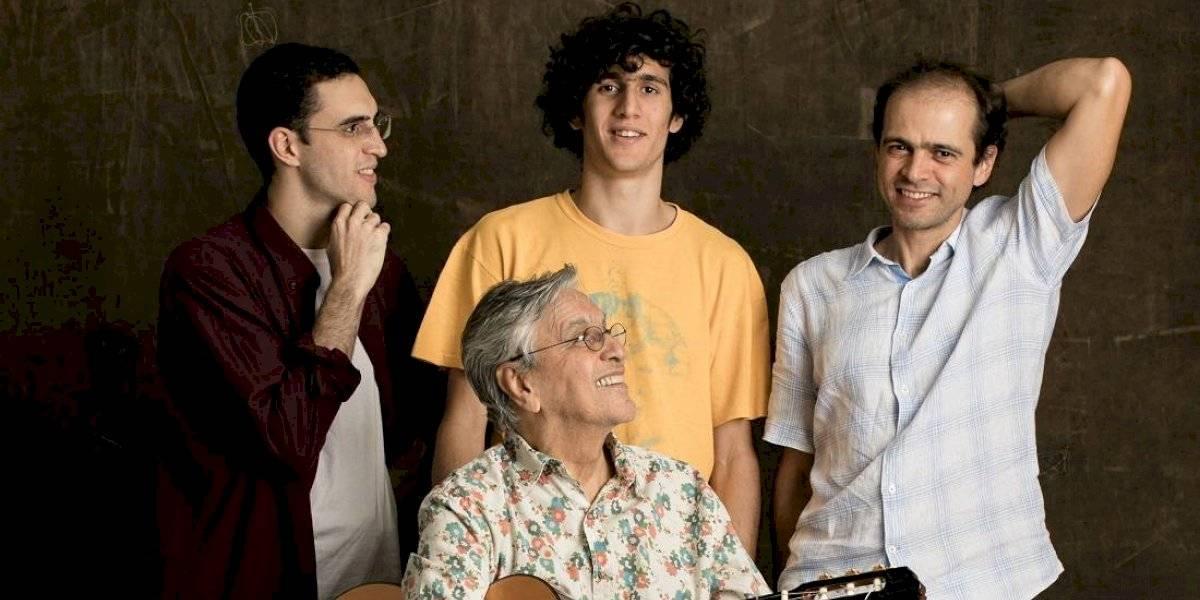 Caetano Veloso celebra projeto musical com os filhos: 'Para mim é só felicidade'