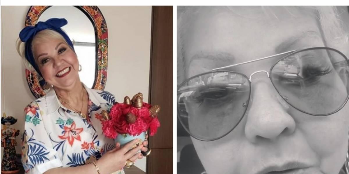 La Gorda Fabiola conmueve por video en el que rompe en llanto por muerte de ser querido