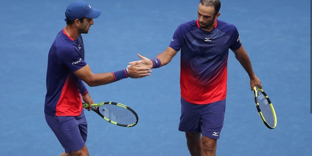 Juan Sebastián Cabal y Robert Farah ganaron en su debut en el Masters de Shanghái