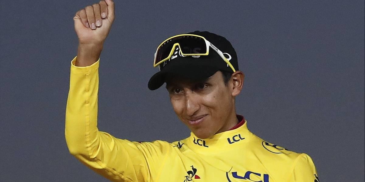 Egan Bernal fue elegido como el deportista colombiano del año