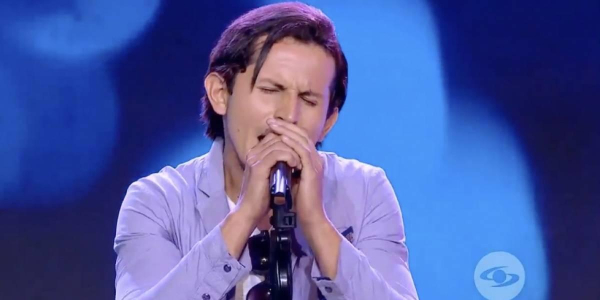 Ecuatoriano se robó el 'show' en 'Yo me llamo' con su imitación de Ricardo Montaner