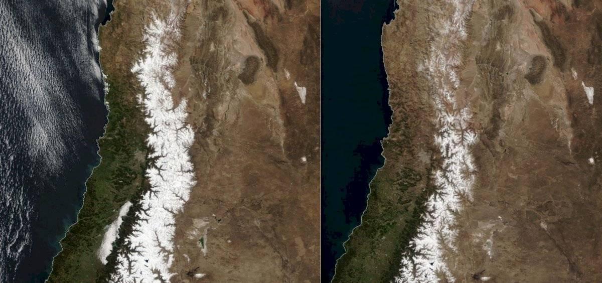 nieve en Chile