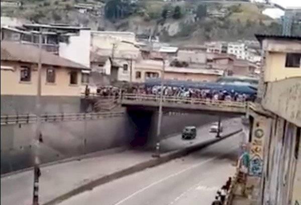 Protestas en Ecuador: AMT recomienda no circular por la avenida Mariscal Sucre, sector los Túneles AMT