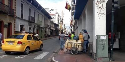 Desabastecimiento de alimentos en Cuenca