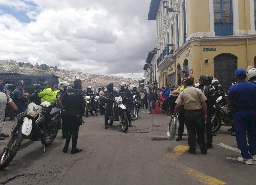 Centro Histórico de Quito API