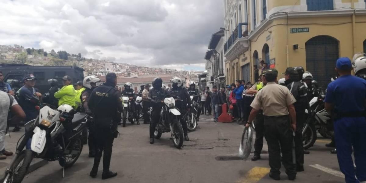 Protestas en Ecuador: Concejales de Quito piden a Jorge Yunda más acciones para garantizar la seguridad en la ciudad