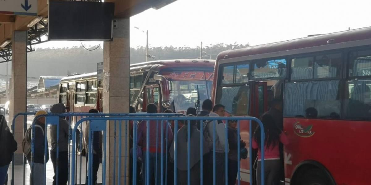Paro nacional: transportación en Quito durante la mañana de este lunes y precio de pasajes