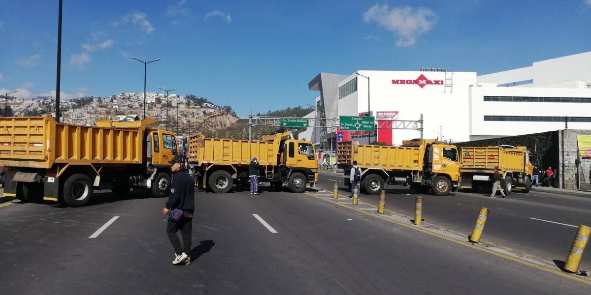 Paro Nacional: Cierre de vías en Quito tras sexto día de manifestaciones