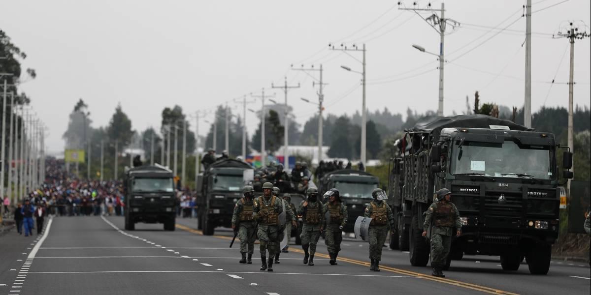 Paro nacional: Ministro de Defensa advierte que no se debe provocar ni desafiar a los militares