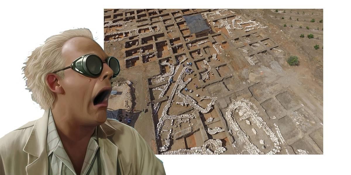 Arqueólogos descubren ciudad en Israel que era la Nueva York de hace 5 mil años