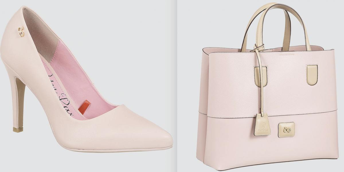 Lanzan colección de bolsos y zapatos para apoyar campaña contra el cáncer de mama