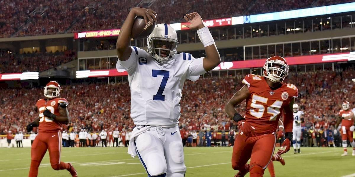 Colts terminan con el invicto de los Chiefs en la NFL