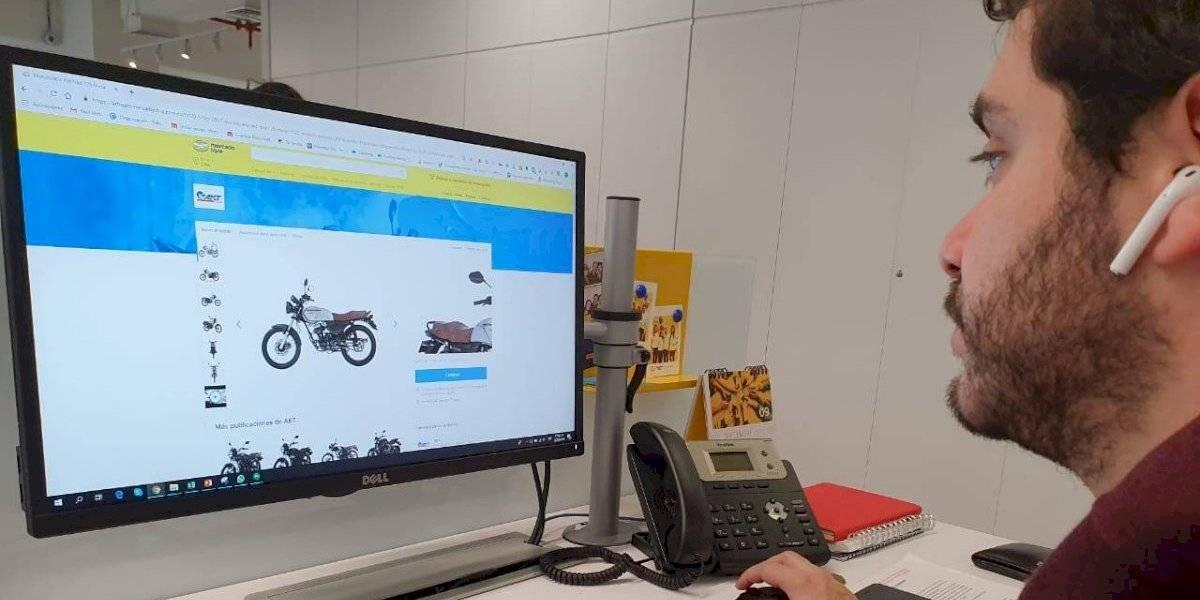 Ahora se podrán comprar motocicletas como cualquier producto en internet