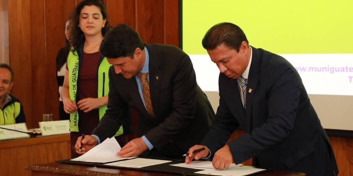 Convenio entre Municipalidad de Guatemala y Universidad Da Vinci beneficiará a 2 mil jóvenes