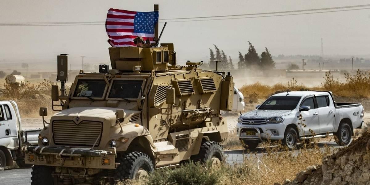 Estados Unidos inicia retirada de la frontera entre Siria y Turquía